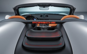 Picture Concept, 911, Porsche, salon, rear view, 2018, Speedster