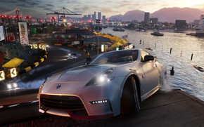 Picture Nissan, game, Ubisoft, 370Z, The Crew 2