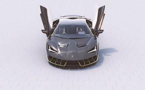 Picture Auto, Lamborghini, Machine, Car, Render, Design, Supercar, Supercar, Sports car, Sportcar, Sebastian Ladan, Lamborghini Centenary, …
