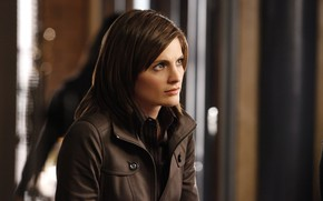Picture look, pose, the series, hair, Castle, Stana Katic, Castle, Stana Katic, Kate Beckett, Kate Becket
