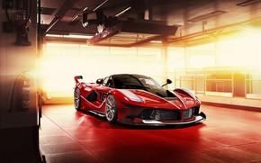 Picture Ferrari, Scuderia, Italia, RED, LaFerrari, FXXK