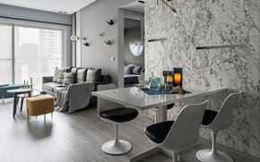 Picture design, style, interior, living room, dining room, Grotta Azzurra, by Shiang Chi Interior Design