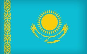 Picture Flag, Kazakhstan, Kazakstan, Kazakh Flag, Flag Of Kazakhstan, Kazakhstani, Kazakh