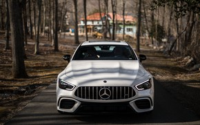 Picture CLS, Mercedes, AMG, Lights, White, Sight, LED
