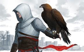Picture Bird, Eagle, Assassin, Assassin's Creed, Altair, Bird, Altair Ibn La-Ahad, Character, Game Art, Altaïr Ibn-La'Ahad, …