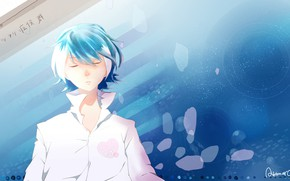 Picture background, guy, Vocaloid