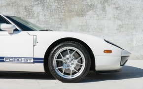 Picture Wheel, The front, 2005 Ford GT, Front fender