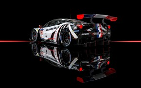 Picture Machine, Car, Render, Supercar, Supercar, FIA, Ferrari 488, Racecar, Transport & Vehicles, Benoit Fraylon, FIA …