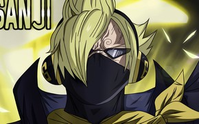 Picture mask, guy, One Piece