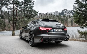 Picture Audi, rear view, ABBOT, Before, RS6, RS 6, 2020
