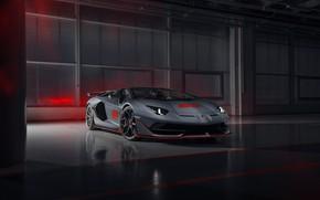 Picture machine, Lamborghini, supercar, roadster, Aventador, The CONDOMINIUM 63