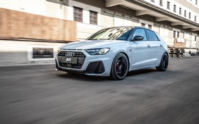 Picture Audi, speed, hatchback, ABBOT, Audi A1, 2019