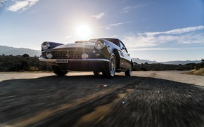 Picture Road, Bumper, Ferrari, Lights, Classic, Chrome, Classic car, Icon, Grille, Ferrari 400 Superamerica, The Short …