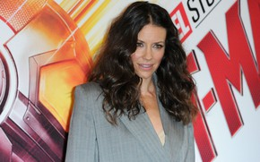 Picture look, pose, actress, brunette, Evangeline Lilly, hair, Evangeline Lilly