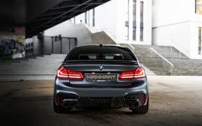 Picture BMW, sedan, rear view, Biturbo, BMW M5, Manhart, M5, V8, F90, 2019, 4.4 L., MH5 …