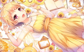 Picture anime, art, Girl