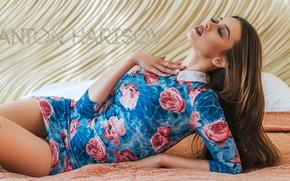 Picture pose, Girl, dress, Anton Kharisov