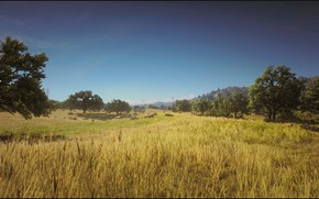 Picture Landscape, Game, Summer, prairie, Natur, Red Dead Redemption 2, Xbox One X, RDR2, HDR 10, …