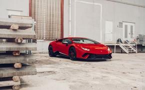 Picture Lamborghini, Italy, RED, VAG, Performante, Huracan