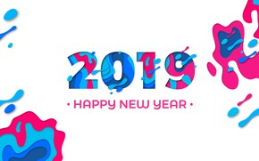 Picture figure, graphics, new year, new year, 2019