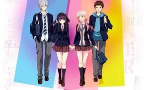 Picture anime, art, characters, Netsuzou Trap, A trap of lies