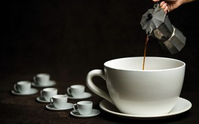 Picture background, coffee, Cup