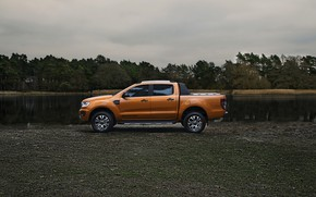 Picture shore, Ford, pickup, Ranger, Wildtrak, 2019
