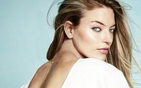 Picture look, pose, model, hair, makeup, hairstyle, model, hair, look, Victoria's Secret, makeup, Martha Hunt, Martha …