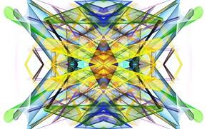 Picture line, saver, symmetry