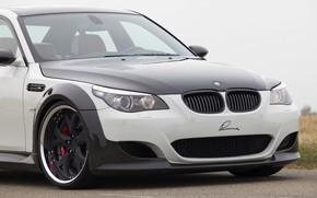 Picture the hood, BMW, sedan, G-Power, 2009, V10, E60, BMW M5, Lumma Design, M5, 730 HP, …