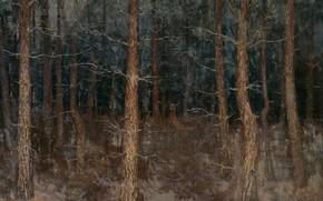 Picture oil, picture, canvas, 1907, Gustaaf van de Wall Perne, Густаф Фредерик Уолл Перн, Мистические пути