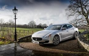 Picture drops, Maserati, lantern, Quattroporte S