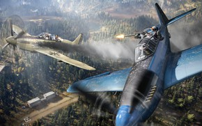 Picture shootout, aircraft, 2018, Ubisoft Montreal, Far Cry 5