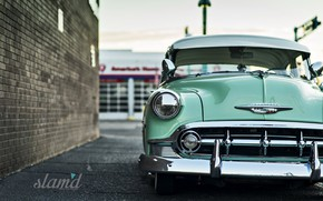 Picture Chevrolet, Retro, Deluxe, 1953 Year