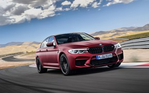 Picture movement, BMW, 2017, M5, F90, M5 First Edition
