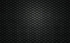 Picture black, mesh, holes, mug