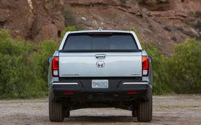 Picture Honda, pickup, feed, 2016, Ridgeline