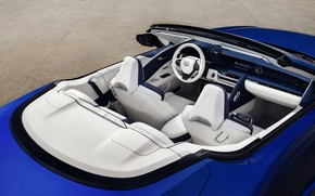 Picture Lexus, convertible, salon, 2021, LC 500 Convertible