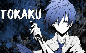 Picture look, girl, background, anime, Akuma no Riddle