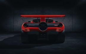 Picture coupe, rear view, V12, GMA, Gordon Murray Automotive, T.50s Niki Lauda