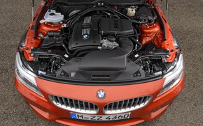 Picture engine, BMW, Roadster, grille, 2013, E89, BMW Z4, Z4, sDrive35is