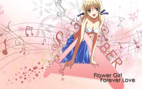 Picture girl, background, pink, the saber, Fate stay night, Fate / Stay Night