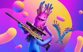 Picture weapons, being, fantasy, Fortnite