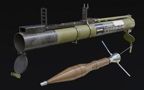 Picture USSR, Anti-tank hand grenade, Одноразовый, РПГ-22 Нетто