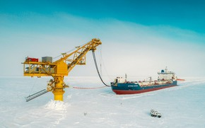 Picture Arctic, mining, fossil