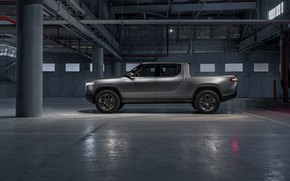 Picture side view, pickup, 2019, R1T, Rivian