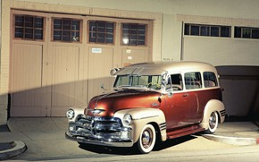 Picture Chevrolet, Car, Old, Retro, 1954 Year