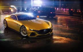 Picture Auto, Machine, Mazda, vision, by Hugo Silva, Hugo Silva, Mazda RX-Vision, Mazda RX, Transport & …