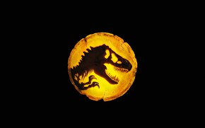 Picture Teeth, Dinosaur, Black background, 2022, Мир юрского периода: Власть, Jurassic World: Dominion