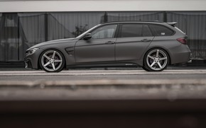 Picture BMW, profile, 2018, 3-series, universal, 320d, the five-door, F31, Z-Performance, 3P